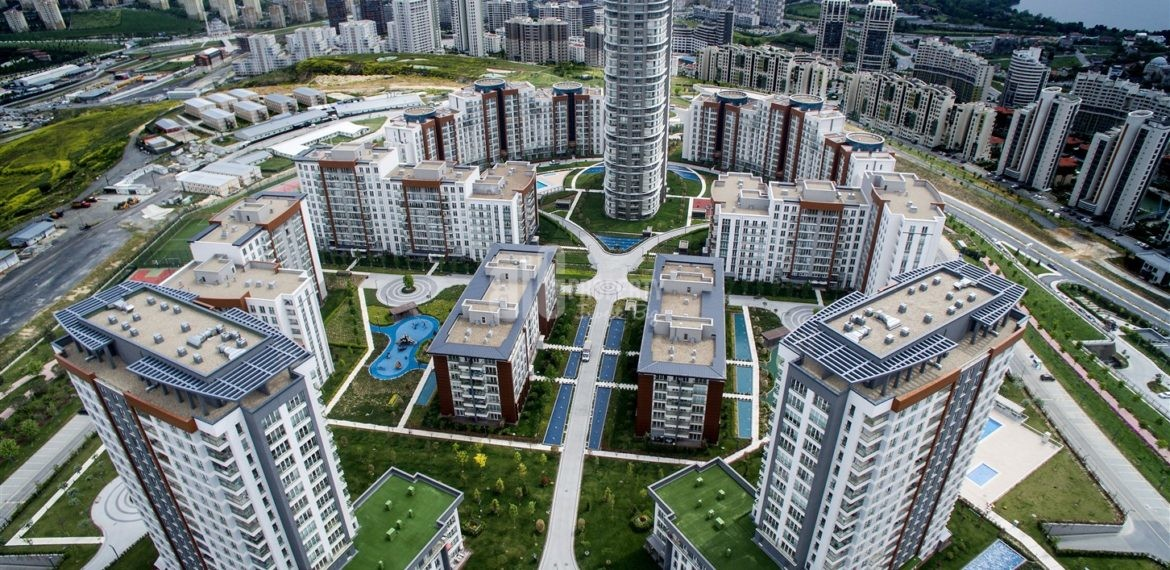 Ideal lifestyle apartments for sale in Kucukcekmece Istanbul