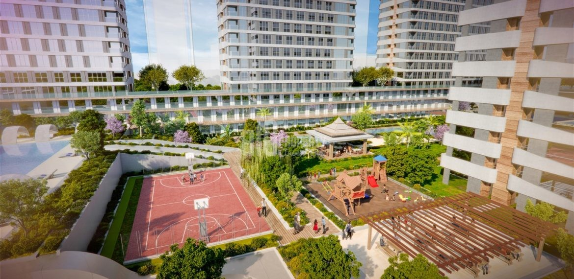 Investment and lifesyle modern flats for sale close by E-5 Istanbul Esenyurt