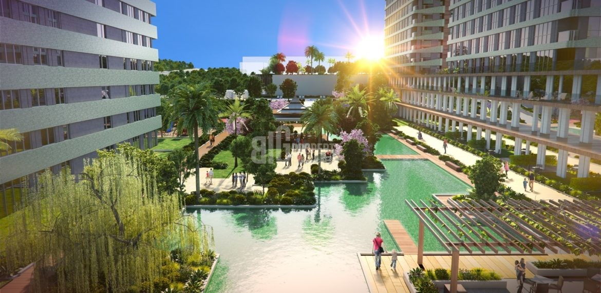 Investment and lifesyle modern homes for sale close by E-5 Istanbul Esenyurt