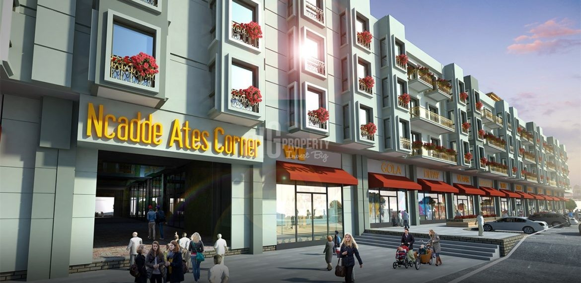 N Cadde Ates Corner Service and student apartments property with rental guarantee real estate for sale İstanbul Esenyurt