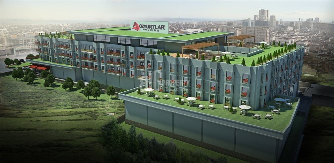 N Cadde Ates Corner Service and student apartments real estate with rental guarantee real estate for sale İstanbul Esenyurt