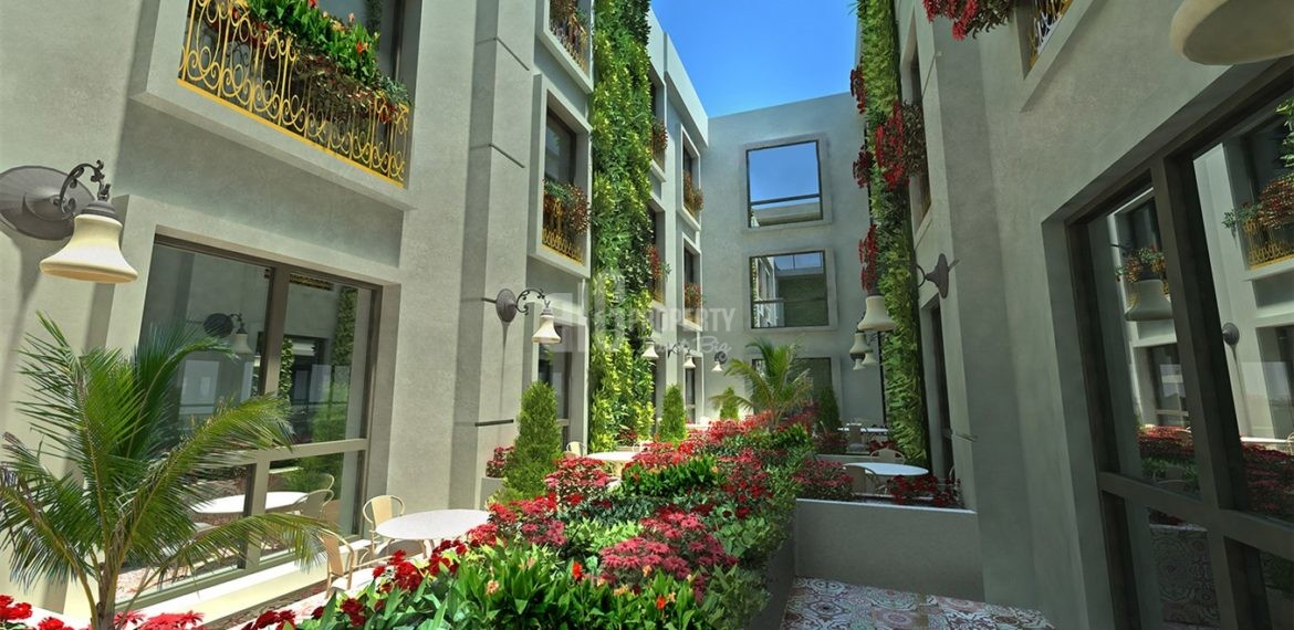 N Cadde Ates Corner buying turkey Service and student apartments with rental guarantee real estate for sale İstanbul Esenyurt