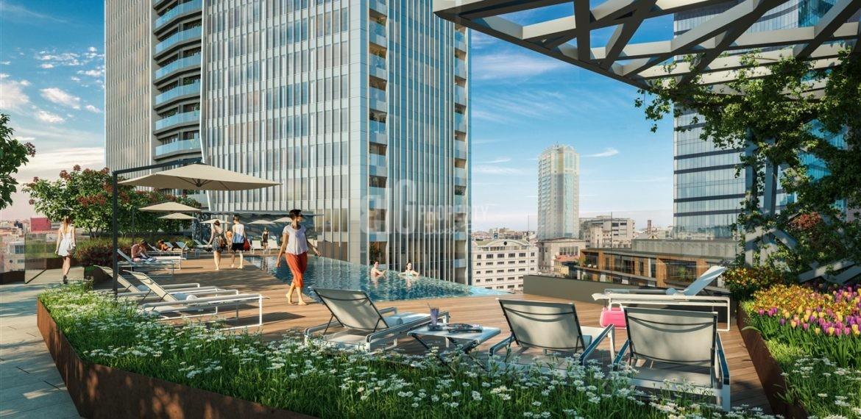 Nida park bomonti real estate for sale city center istanbul