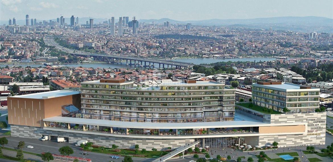 Office – Apartments – Shopping-Mall Complex investment property for sale İstanbul Bayrampasa