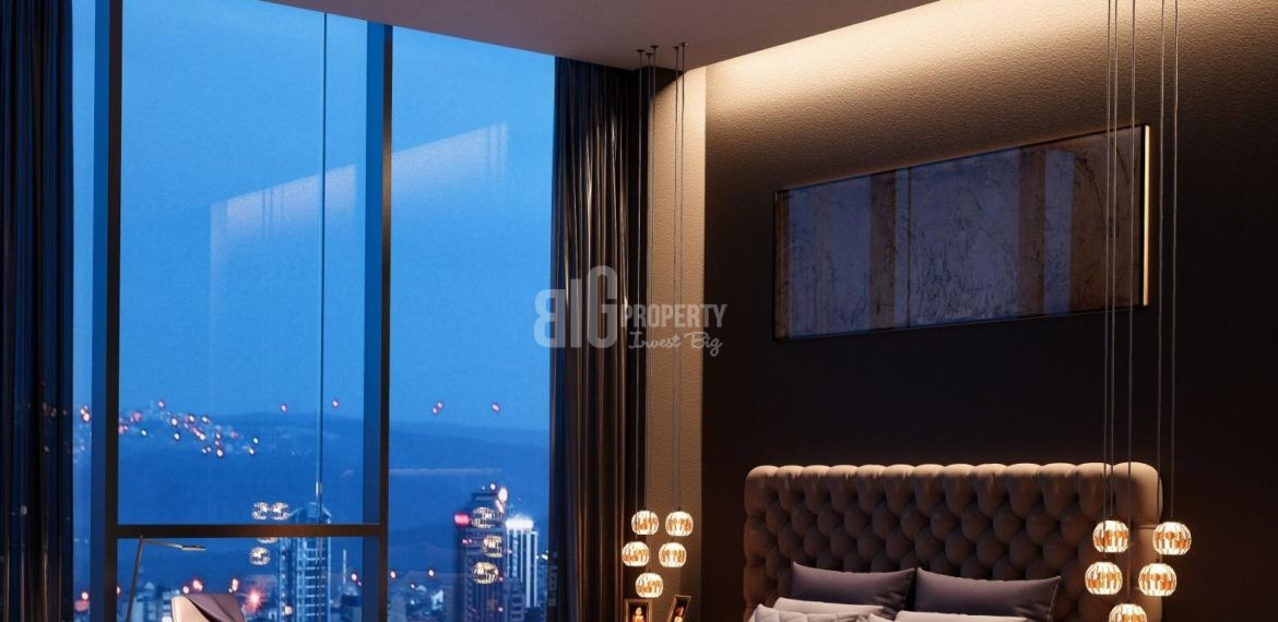 Point flats prime place in fron of Metro near To Shopping Mall for Sale İstanbul turkey Bagcilar