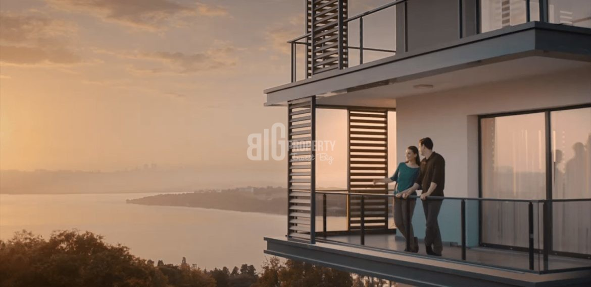The Most Beautiful canal istanbul citizenship properties for sale in Kucukcekmece İstanbul