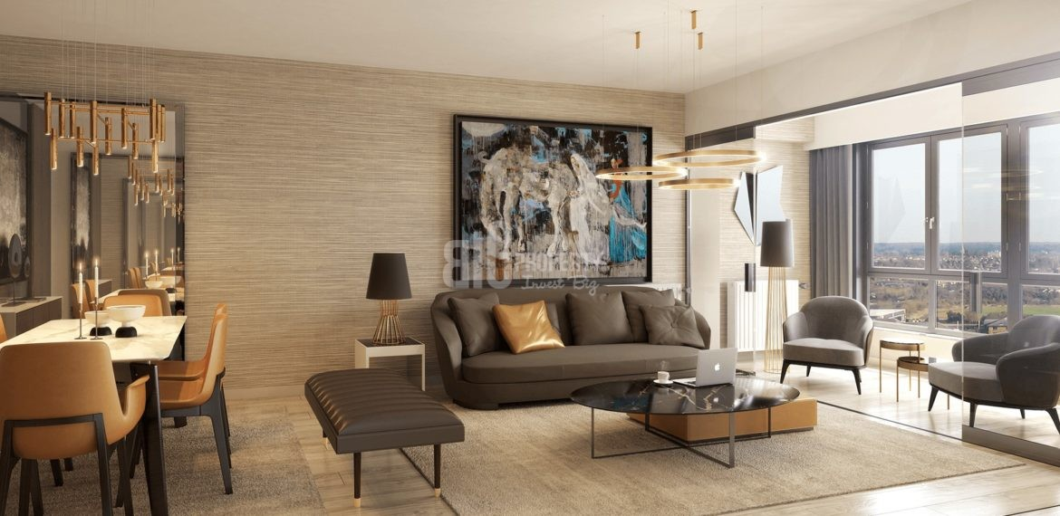 buying home istanbul in sur yapi bahcekent project