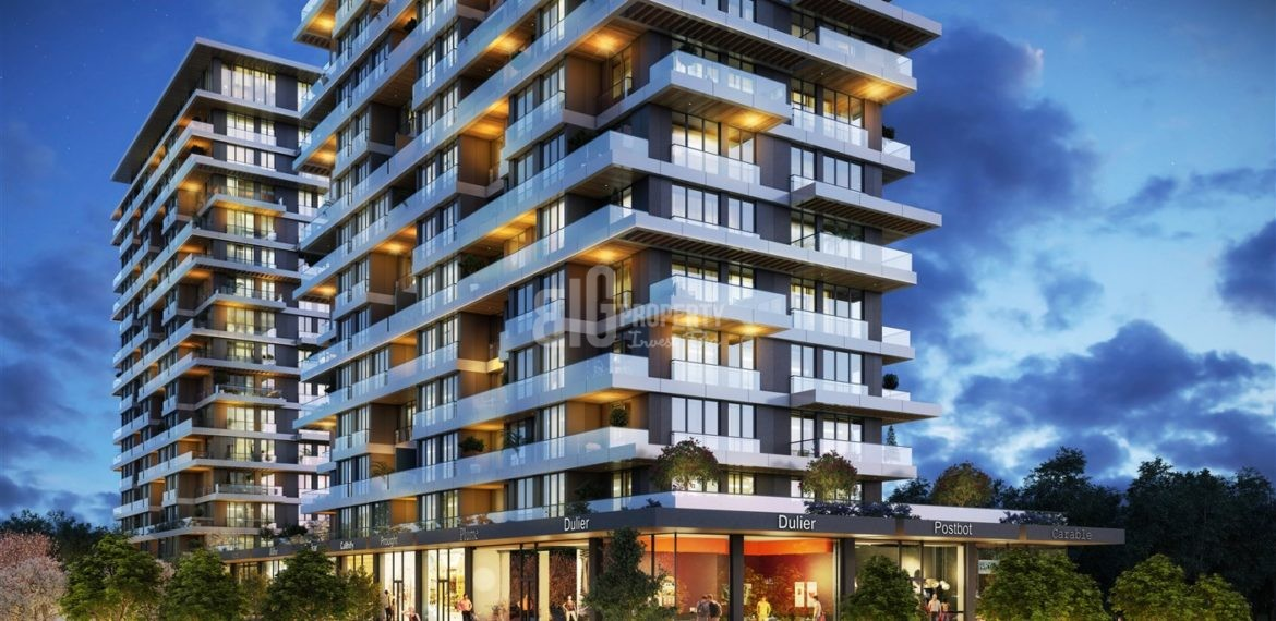 citizenship apartments for sale Best Locations investment properties for sale up to metro İstanbul Kagithane