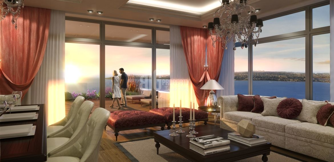 coastal city ready apartments for sale in istanbul buyukcekmece Turkey