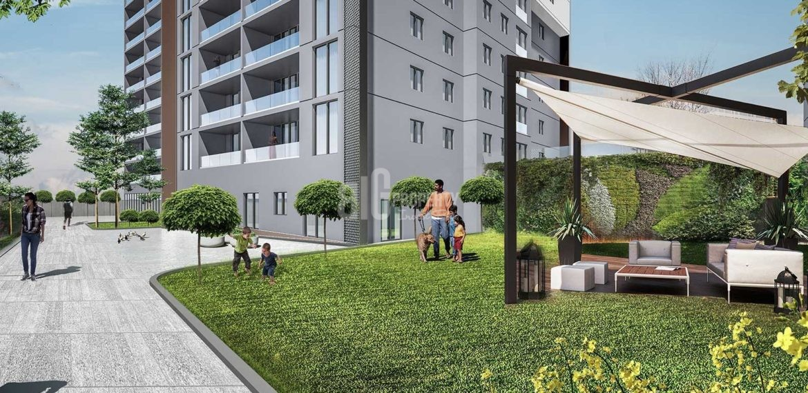 turkish citizenship Lakefront properties for sale with full canal istanbul view İstanbul Kucukcekmece