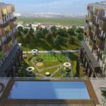 Attractive payment plan opportunity lake view city center home for sale Avcilar Istanbul
