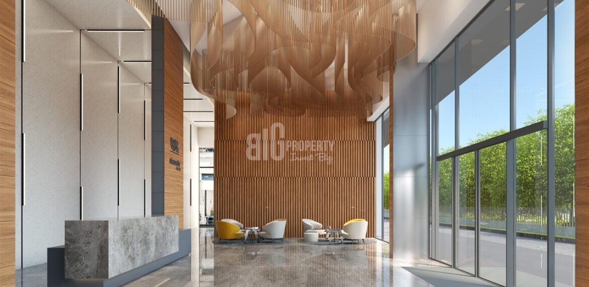 Attractive payment plan opportunity lake view city center properties for sale Avcilar Istanbul