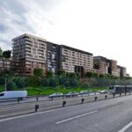 Big apartments for sale at city center with big green area view in Istanbul Topkapi