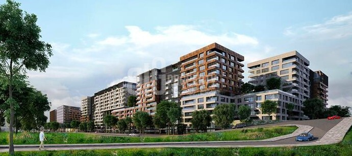 Big apartments for sale at city center with wonderful green area in Istanbul Topkapi
