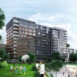 Big flats for sale at city center with big green area view in Istanbul Fatih