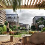 Big flats for sale at city center with wonderful green area in Istanbul Fatih