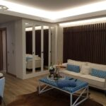 Big project an luxury flats for sale with wonderful city view near to forest in Istanbul Maslak