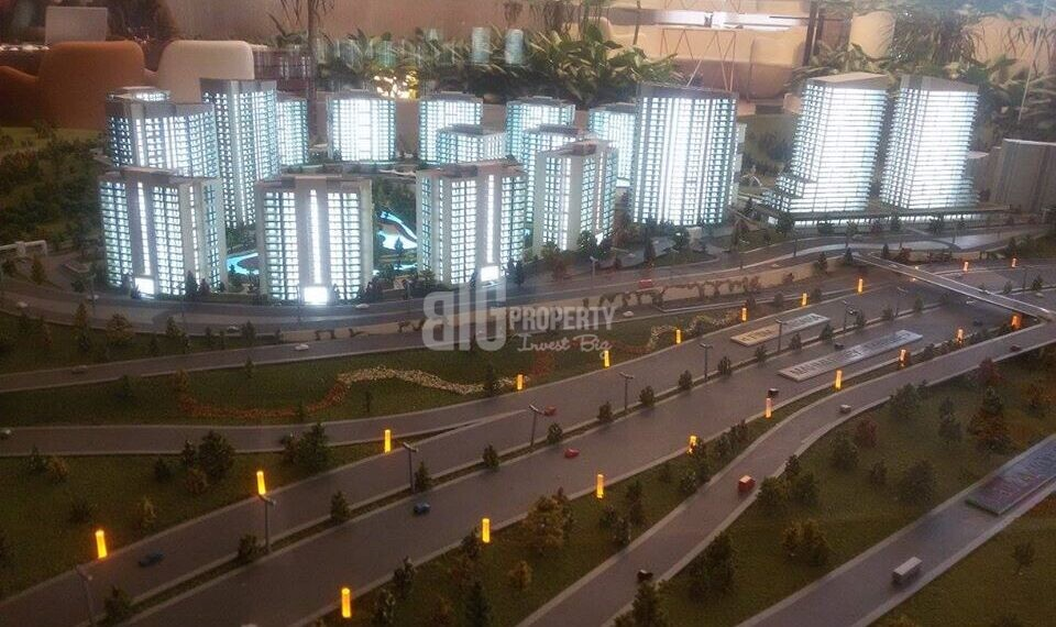 Luxury residantial for sale with wonderful city view near to highway in Kagithane Turkey