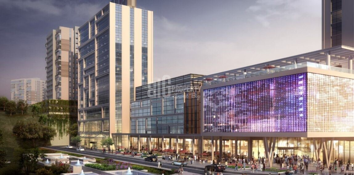 Shopping-Mall-Office-Residencial properties for sale Gaziosmanpasa İstanbul