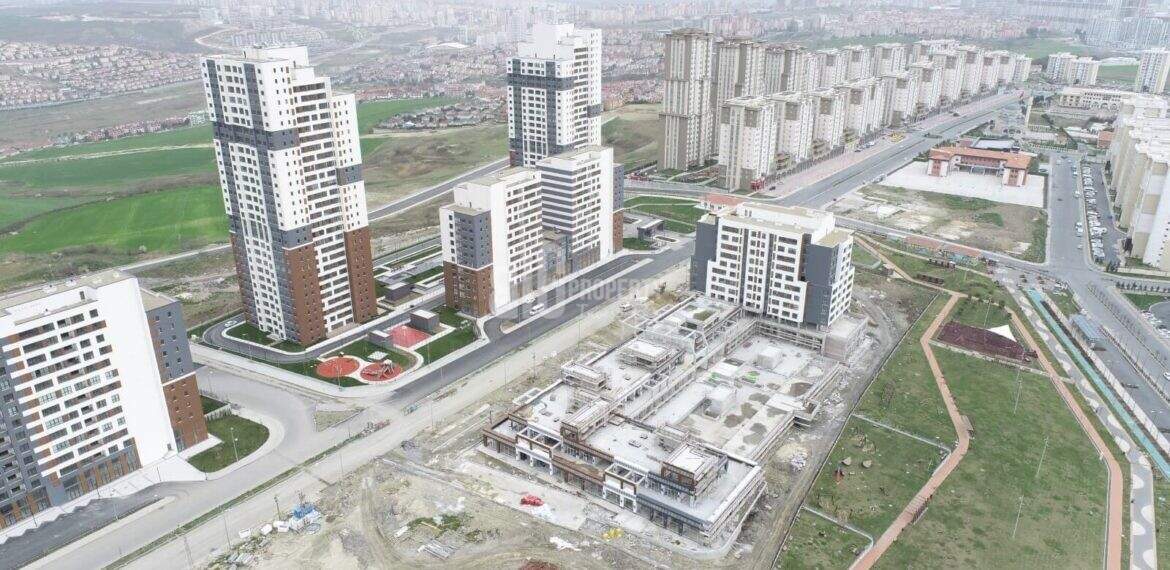 The Green Park complex goverment residence for sale near to new airport and canal istanbul Istanbul Basaksehir