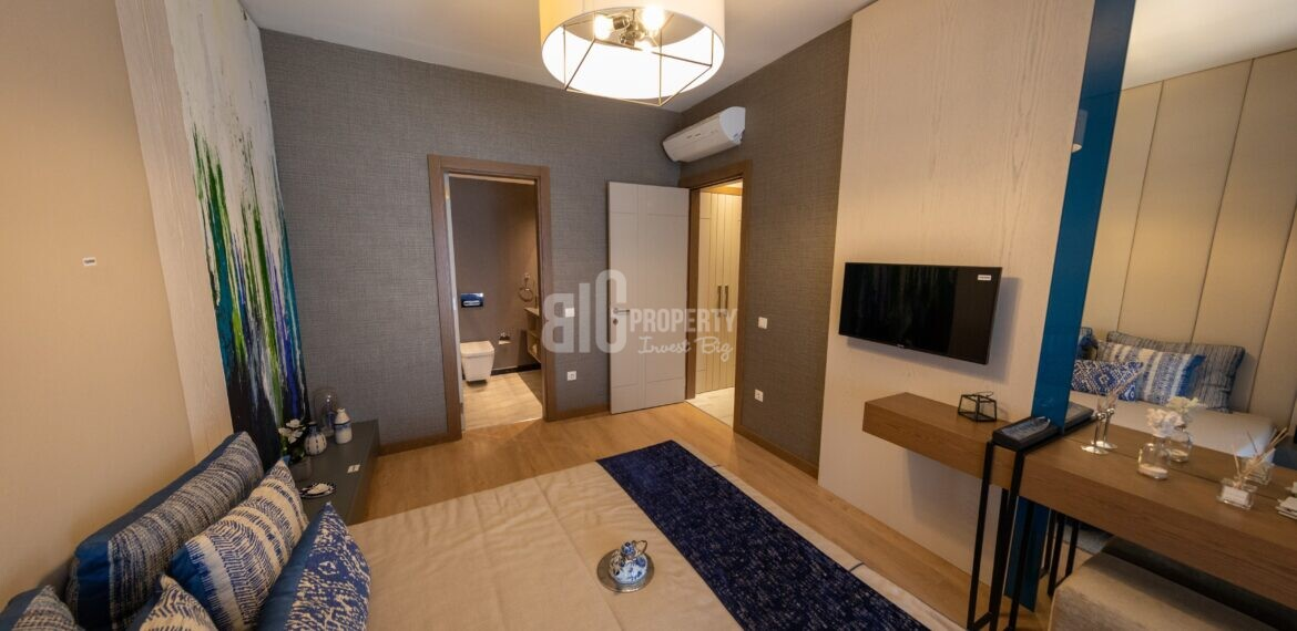 big property agency offer 3 rooms turkish citizenship cheap apartments in tual bahcekent