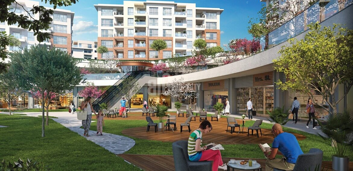 big property agency offer good high apartments at eston sehir project in basaksehir istanbul