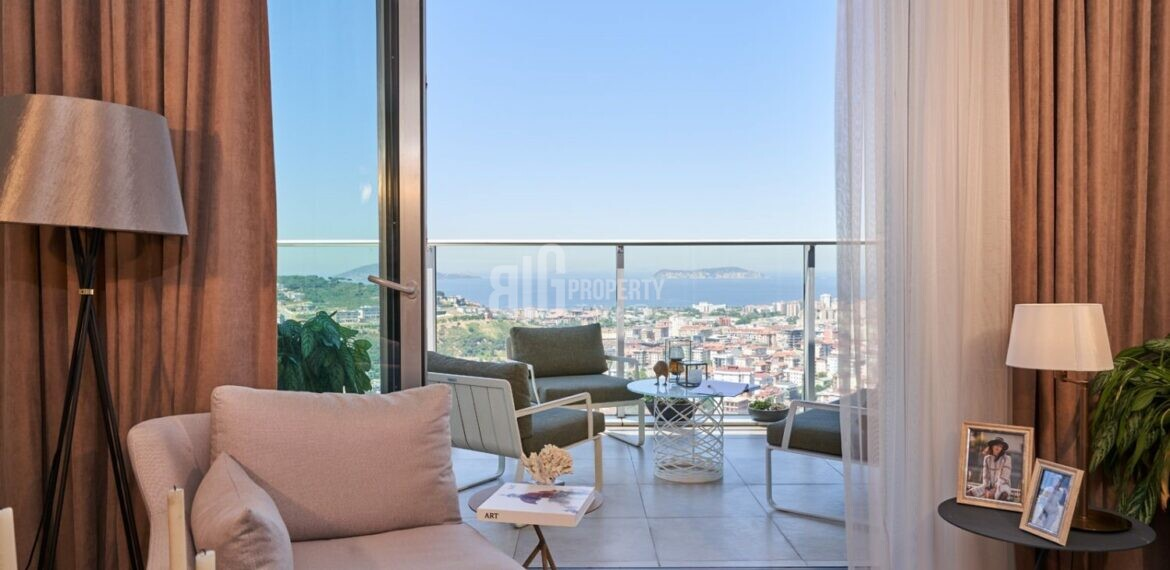 big property agency offer nuvo dragos good quality sea view 3 rooms aparments for turkish citizenship