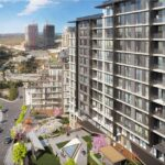 buying home in istanbul forev modern Panoramic city view residence for sale Eyup İstanbul turkey