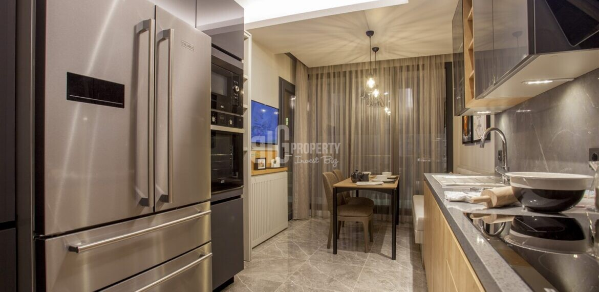 cheap apartments which is Attractive payment plan opportunity lake view city center houses for sale Avcilar Istanbul