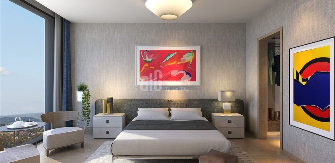 5 stars hotel branded with rental gurantee hotel apartments for sale İstanbul