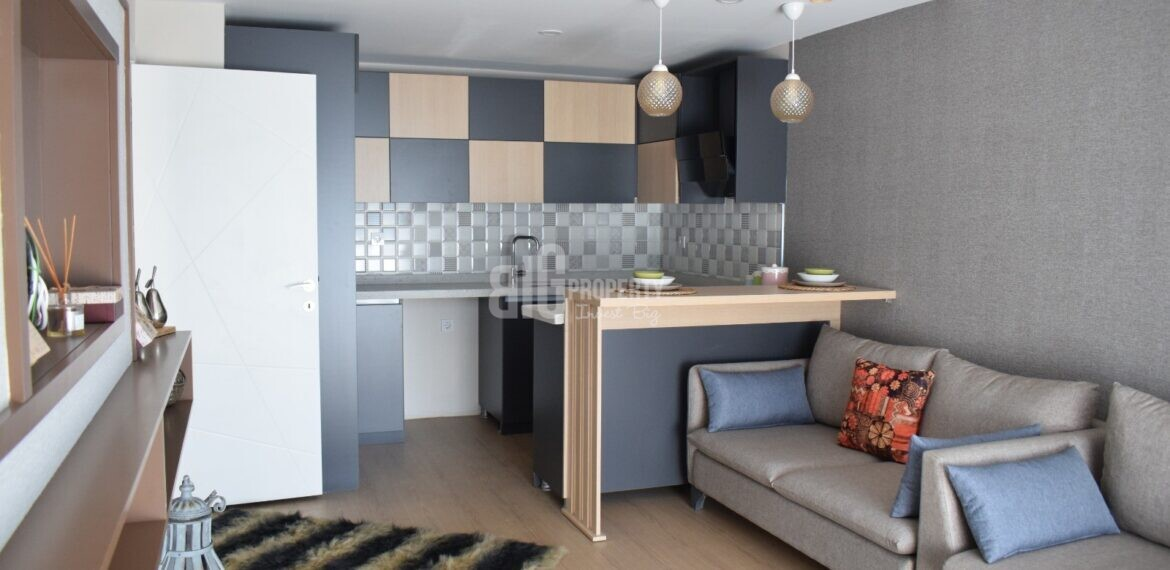 Cheap tower apartments for sale in Basin Ekspres Way Gunesli İstanbul