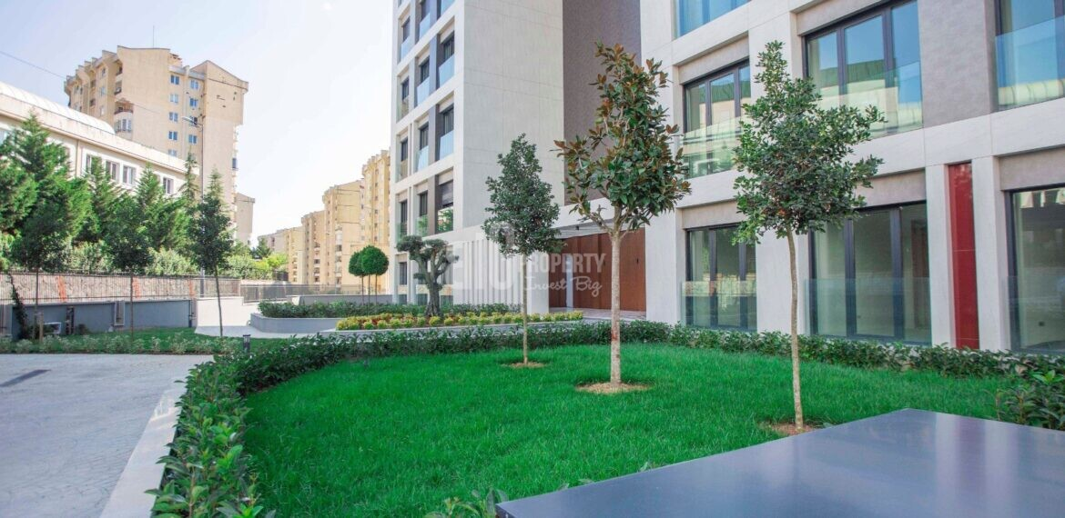 Citizenship one building home ready to move for sale Basaksehir Istanbul