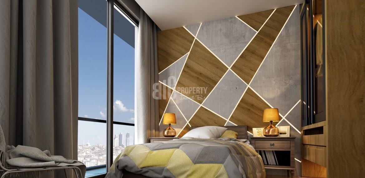 City Center Modern Architecture Family Concept Project in Kagithane İstanbul