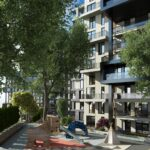 City Center Modern Architecture Family Concept homes in Kagithane İstanbul