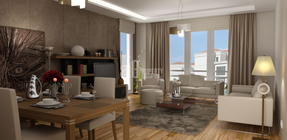 Living in Turkey quality apartments has social facility in in istanbul
