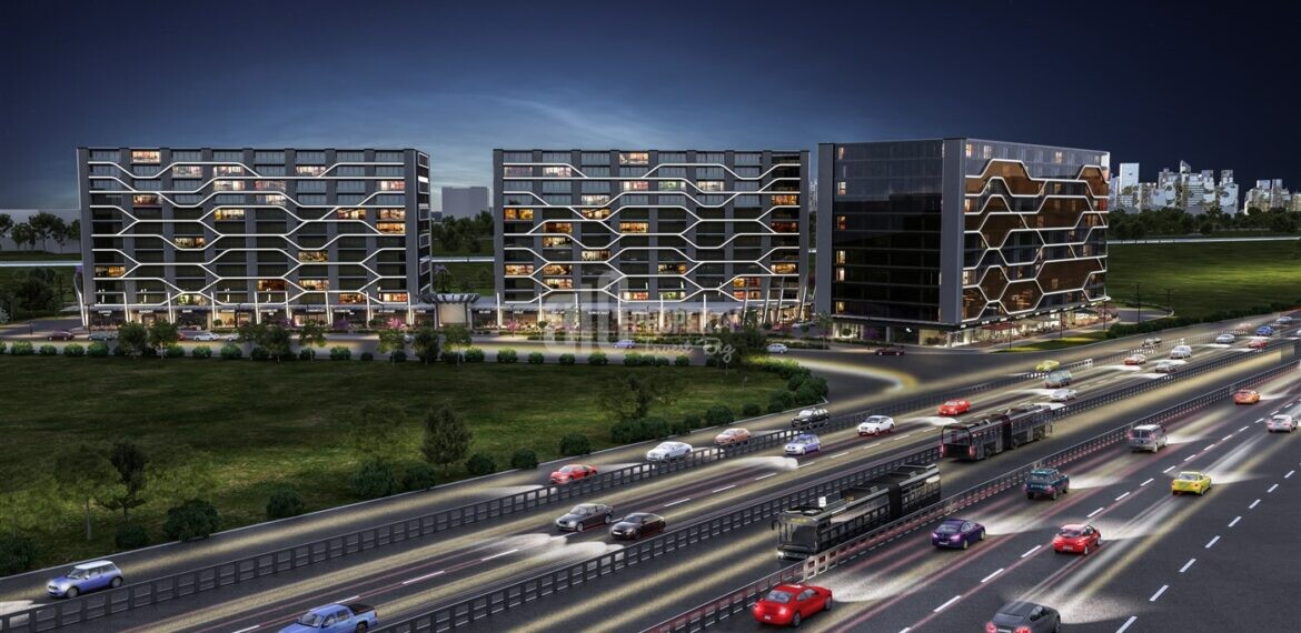 Commercial – Office – Aparments Mix Compound Real estate in Front of E-5 in Kucukcekmece İstanbul