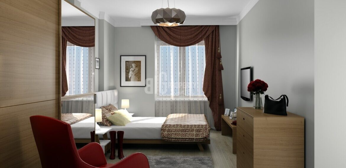 project for sale Living in Turkey quality properties has social facility in in istanbul