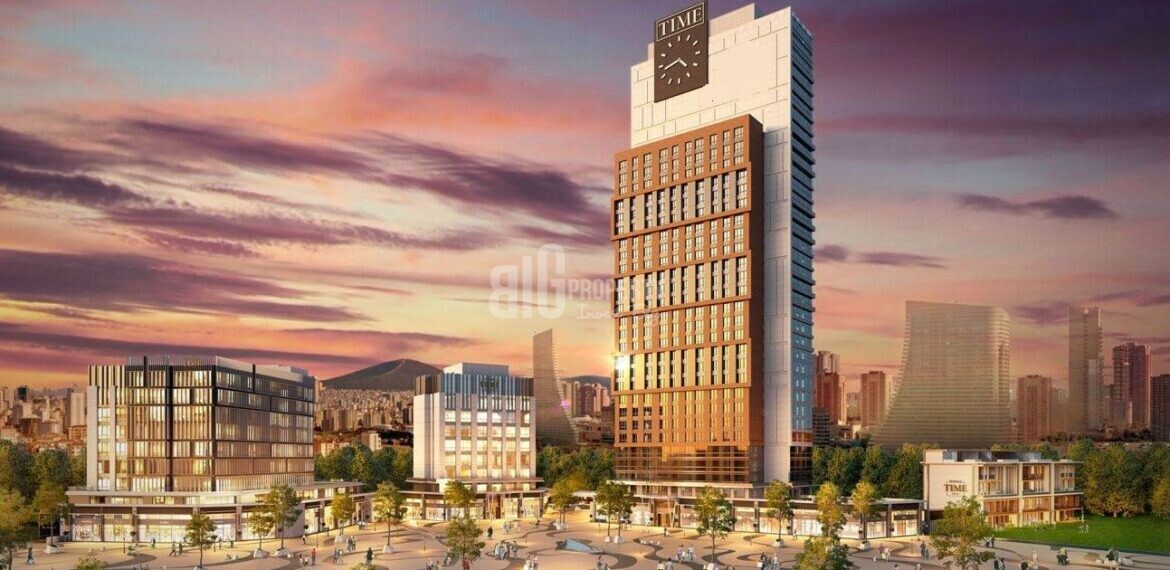turkish citizenship istanbul Financial Center insvestment and living property for sale atasehir istanbul