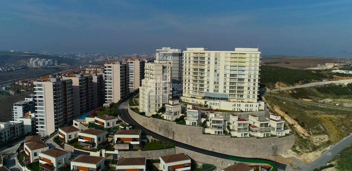 Key ready natural elit real estate for sale Basaksehir Istanbul
