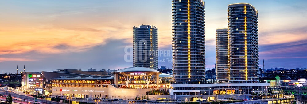 Mall of İstanbul Lux Service and hotel residence high rental guarantee for sale Basaksehir Istabul
