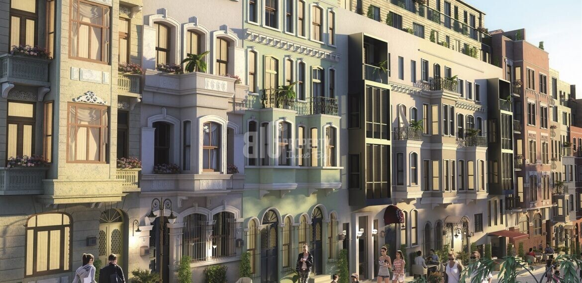 Historical architectural Office and Apartments in for sale heart of İstanbul Taksim