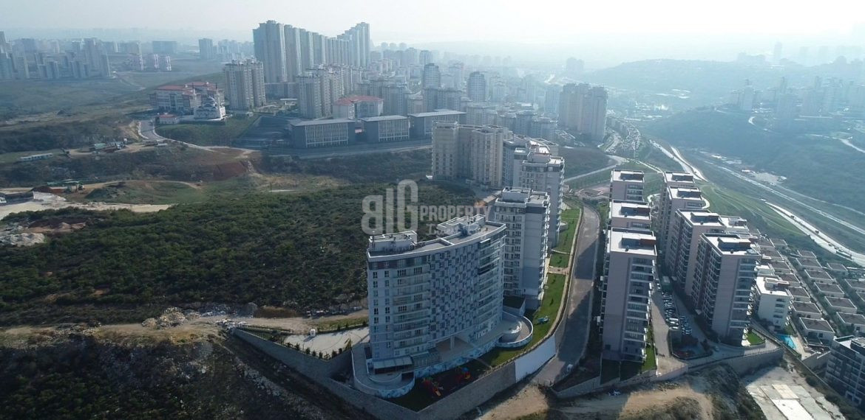 turksih citizneship apartments sky bahcsehir Key ready natural elit project for sale Basaksehir Istanbul