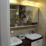 Dumankaya konsept horizontal arthitectural family apartment bathroom with green garden