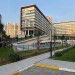 Dumankaya konsept horizontal arthitectural family real estate with green garden