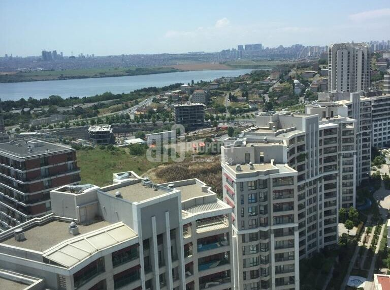 lake and canal istanbul view apartment for sale in istanbul saraylari