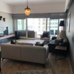 living room in istanbul saraylari apartment for sale with best price