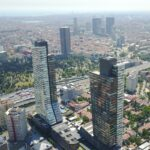 Trump Tower luxury flats and offices for sale in istanbul sisli