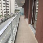 balcony of dumankaya modern vadi apartment for sale