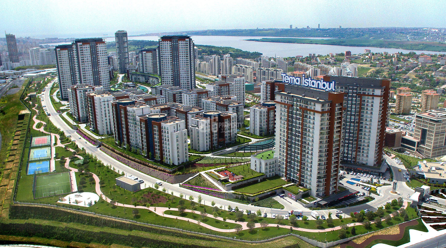 Kucukcekmece region for real estate investment