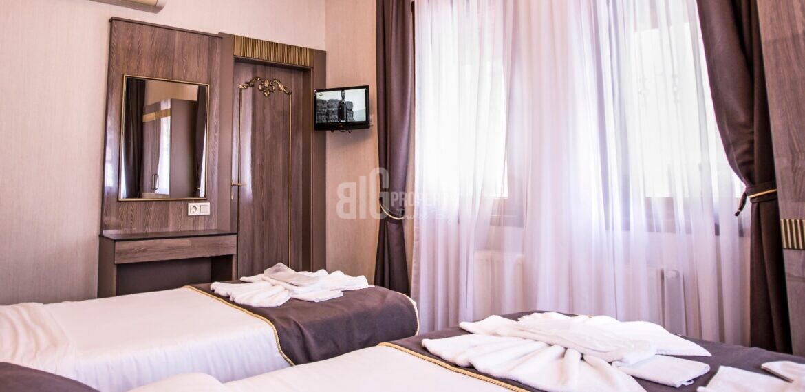 Hotel for sale at suitable price in a unique location in Istanbul Sultanahmet